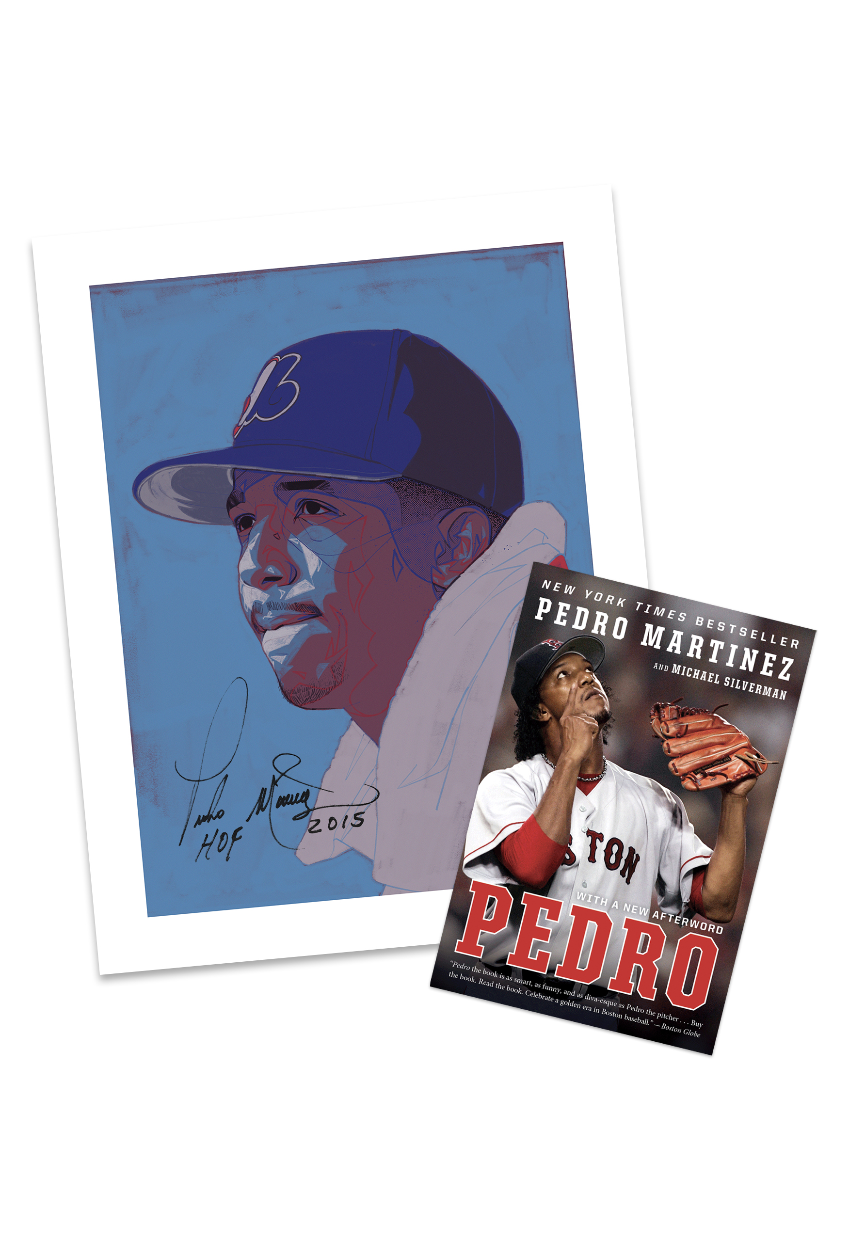 Post Game Book Club Pedro Martinez Package